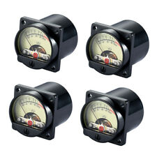 4 Pcs Vintage Analog Vu Meter Audio Level Amp With Dcac 6v 12v Back Light