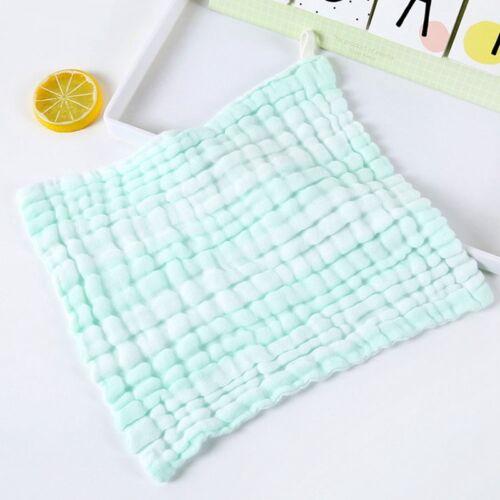 6 Layer Baby Bibs Infant Hot Saliva Handkerchief Toddler Feeding Burp Towel New