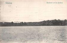 SILKEBORG DENMARK DANEMARK SANATORIET SET FRA GUDENA RIVER POSTCARD c1910