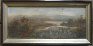 Romantic-Biedermeier-South-Oil-Paintings-1830-Neckar-Rhine-Mosel