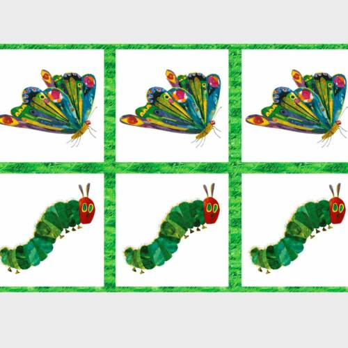 """ANDOVER /""""THE VERY HUNGRY CATERPILLAR/"""" METAMORPHOSIS PANEL Multi by the panel"""