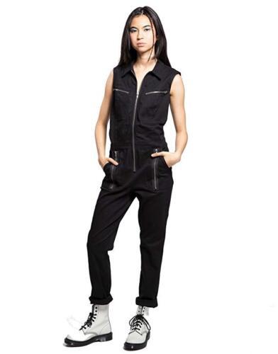 Rocker Jumpsuit Tripp Top Biker Uniform Nyc Io4869 Mechanic Pants Gothic EEpOwq