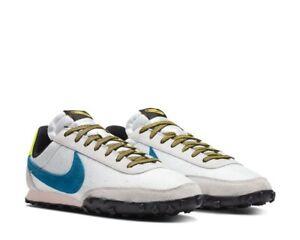 Nike-Waffle-Racer-sommet-Blanc-casse-Bleu-UK-12-13-US-Air-Force-1-Cortez-Tailwind