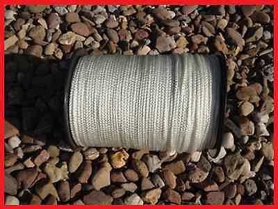 Tauwerk Reepschnur PES Bruchlast 150kg Flechtleine 3mm olivgrün 100m Rolle