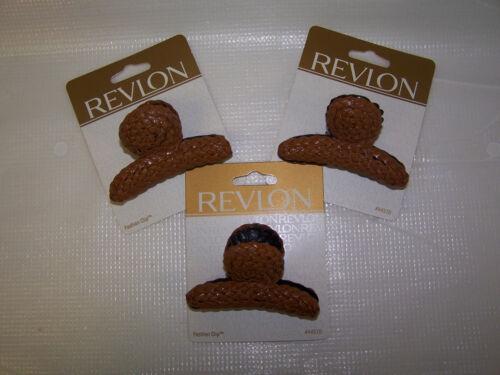 3 packs 1 pc each 3 Revlon Fashion Clips # 44570