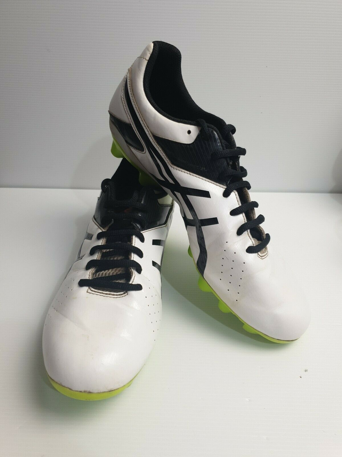 Grillo Dato Usando una computadora  ASICS Lethal Speed St Rugby BOOTS - Vermillion 9.5 for sale online | eBay