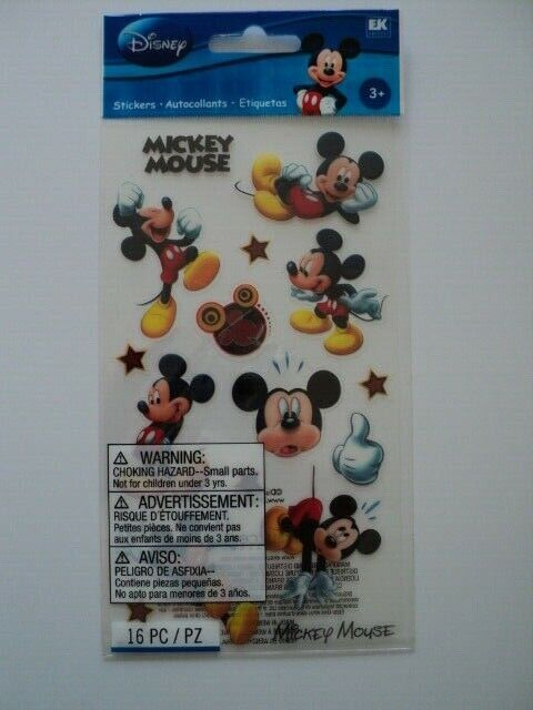 BLING STICKERS E K SUCCESS NEW MICKEY MOUSE DISNEY