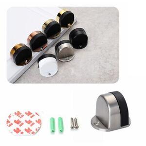 Zinc-Alloy-Self-Adhesive-Door-Stopper-Anti-Collision-Door-Stops-Hardware