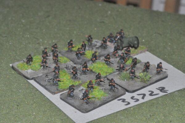 10 Mm Ww1/belge-battle Group 30 Figures & Gun-inf (35728) Faire Sentir à La Facilité Et éNergique