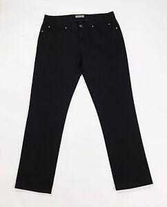 Plaza-skinny-jeans-pantalone-W32-tg-46-donna-gamba-stretta-usati-aderenti-T2134