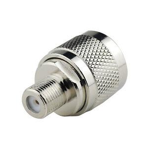 N Type N Male Plug To F Type Female Jack Rf Coaxial