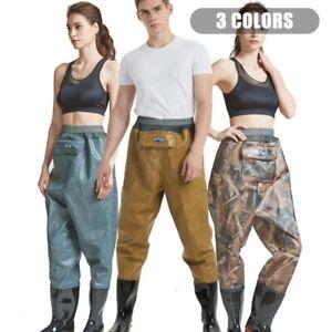 PVC Fly Fishing Muck Waist Waders Pants