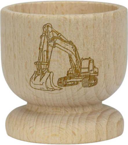 EC00015646 /'Digger/' Wooden Egg Cup
