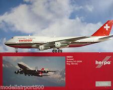 Herpa Wings 1:200  Boeing 747-300M  Swissair HB-IGC  556941