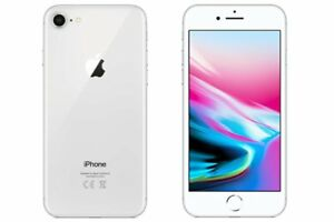 Neuf-Apple-iPhone-8-A1863-64Go-Argente-Factory-Unlocked-Gift-2-Ans-Garantie