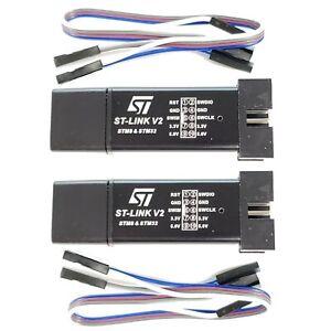 2-Pack-ST-Link-V2-Programming-Unit-mini-STM8-STM32-Emulator-Downloader