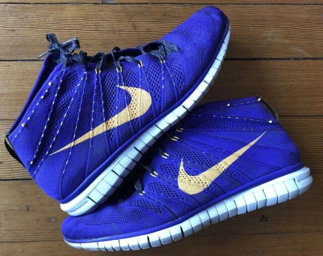 huge selection of 9dbad c1359 Nike Air Flyknit Free Run Chukka Hyper Grape Purple (639700-500) Shoes Size  13