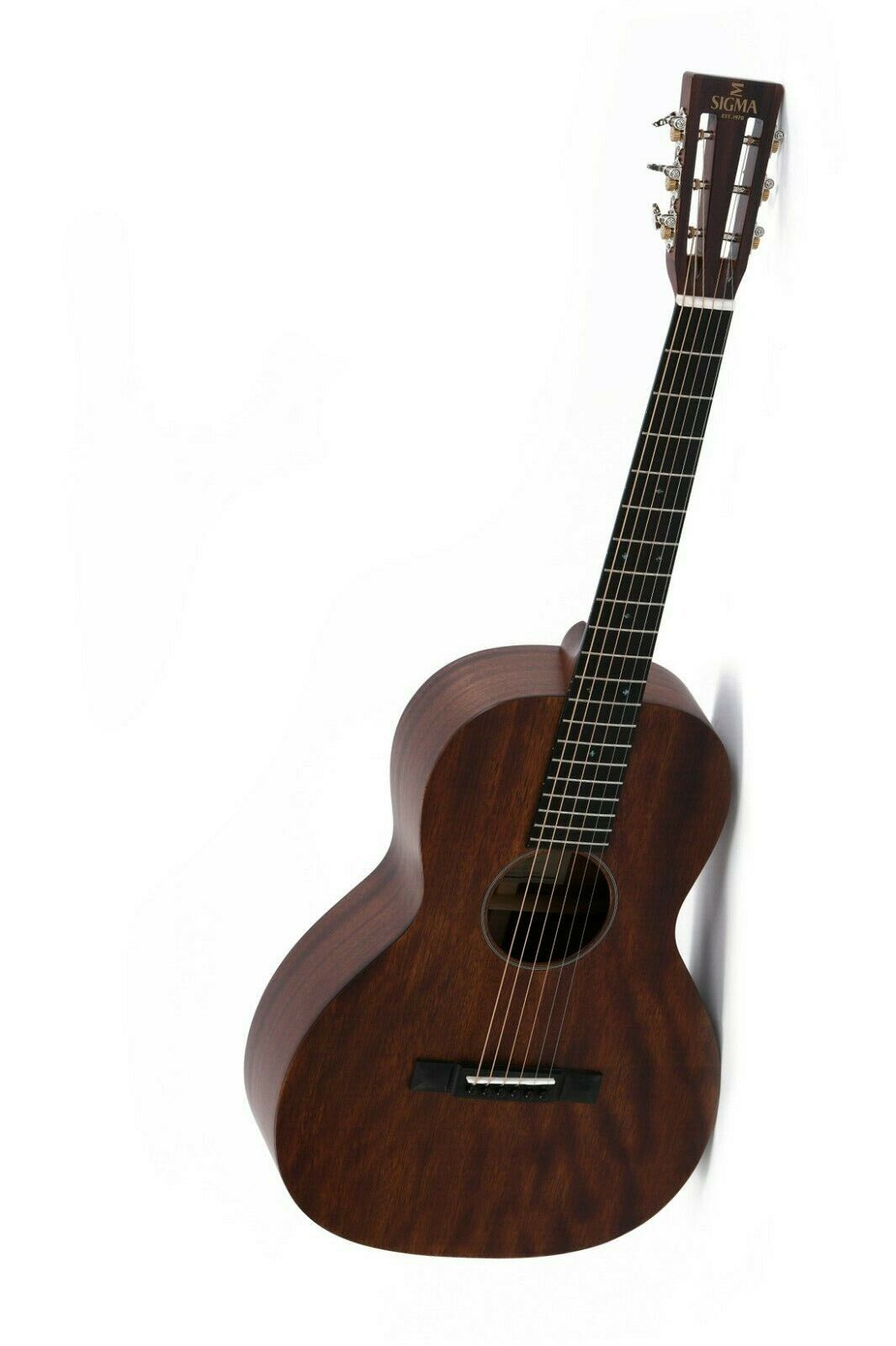 SIGMA GUITARS- Gitarre 000M-15S+ Mahagonikorpus offene slotted Kopfplatte 1.WAHL