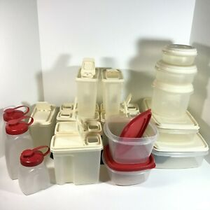9-Servin-Saver-4-Cup-Cereal-Keepers-amp-10-Rubbermaid-Storage-Containers-Pitchers