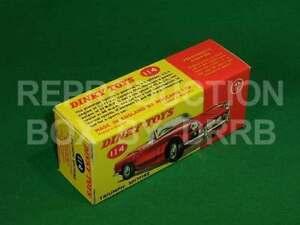 Dinky Toys 114 Triumph Spitfire Repro Box