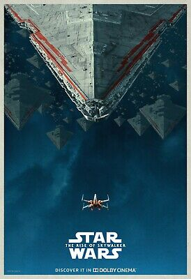 Star Wars the Rise of Skywalker the Saga Comes Movie Poster Size 16x24 24x36