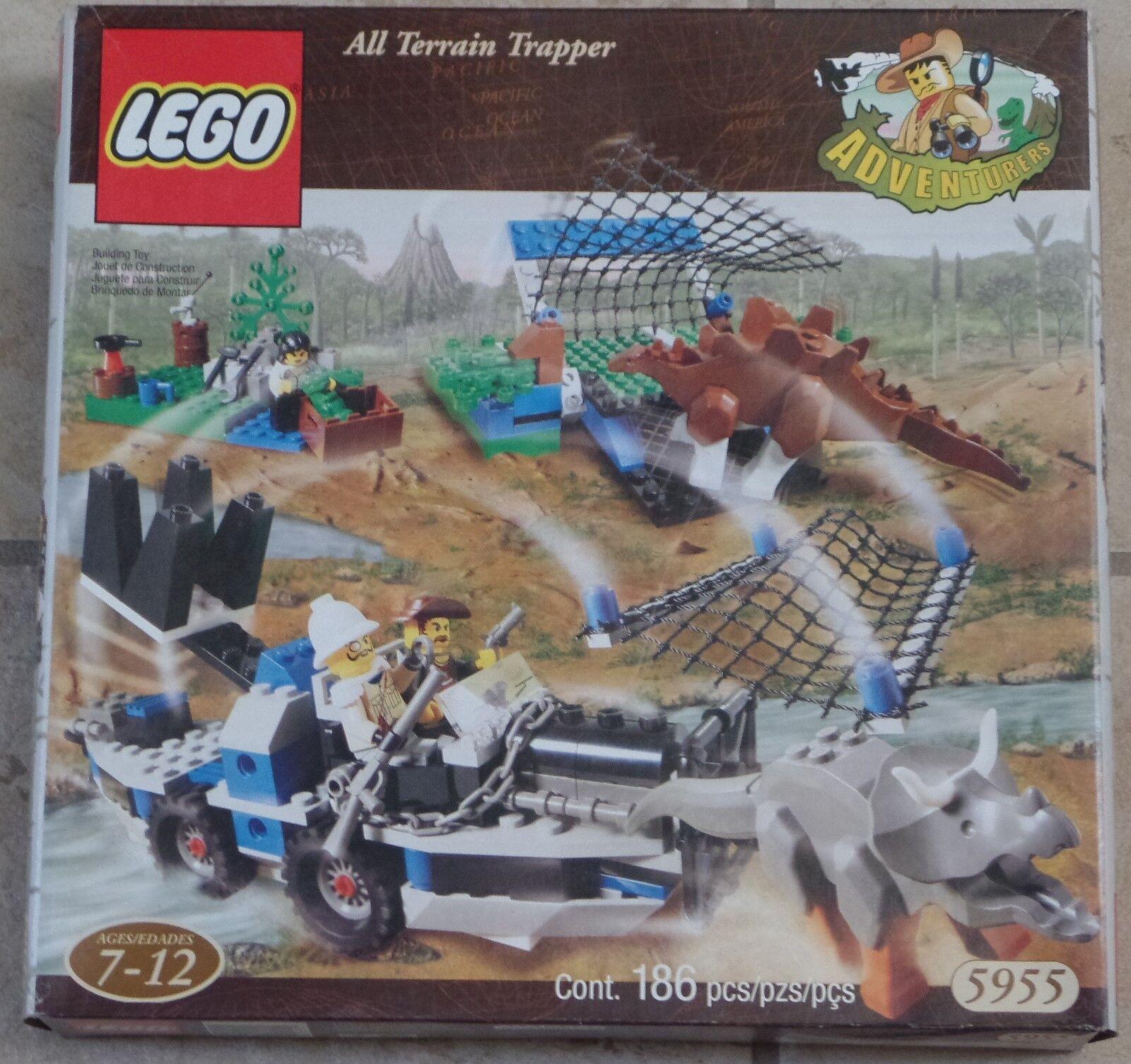 Lego Adventurers 5955 Dino Isle tutti Terrain Trapper (186 pcs) nuovo MISP 2000