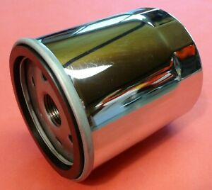 VW-Kaefer-Trike-Bus-Olfilter-Patrone-CHROM-034-UNIVERSAL-einsetzbar-034-010-071205