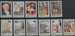 Norfolk-Island-1987-8-Bicentennial-11-Stamp-Set-426-36-14M-001