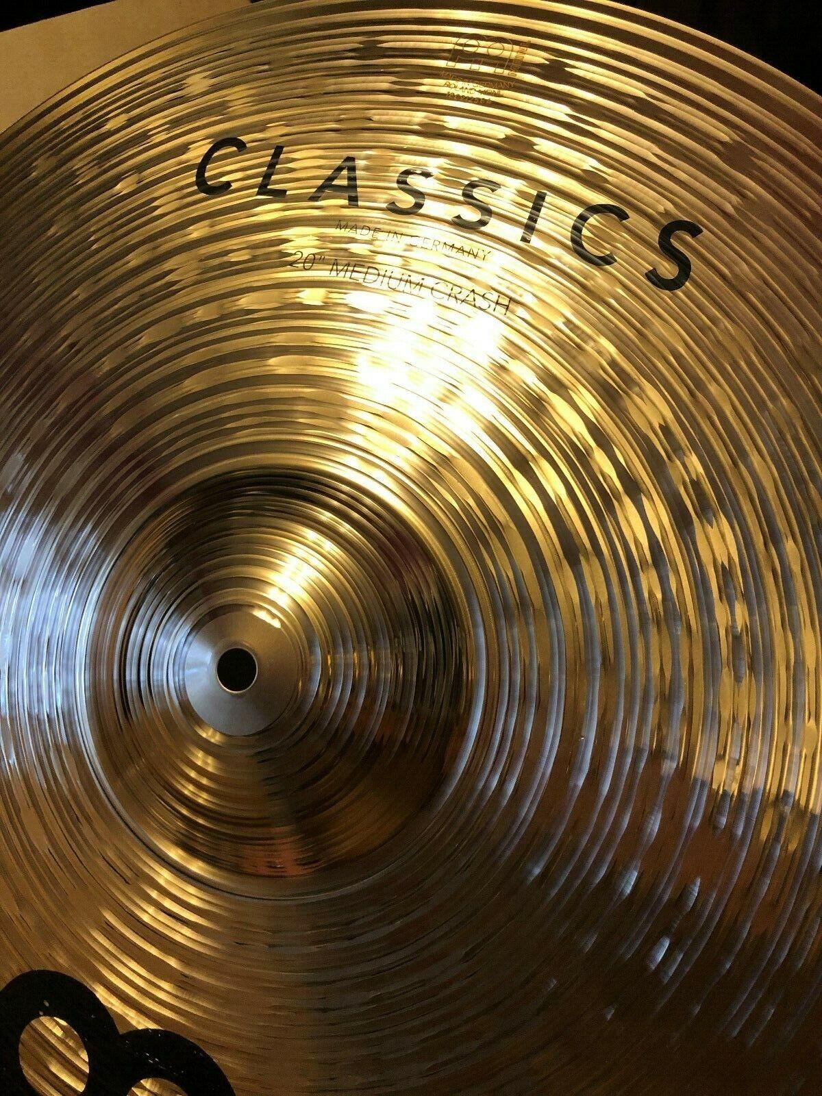 Meinl 20  Classics Medium Crash Cymbal C20MC