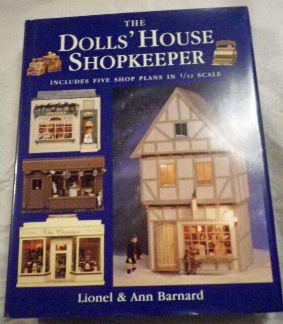 THE DOLLS HOUSE SHOPKEEPER - LIONEL & ANN BARNARD - HARDBACK BOOK VGC