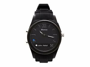 bc129c151c9 Martian Watches Notifier Smartwatch Black Watch MN200BBB for sale ...