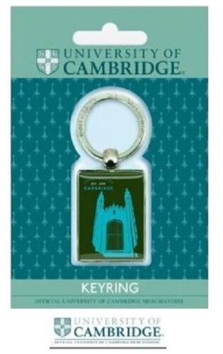 Official University Of Cambridge Keyring Souvenir Key Ring Student Graduate Gift