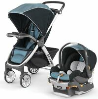 Chicco Bravo Trio 3-in-1 Baby Travel System Stroller W/ Keyfit 30 Iceland