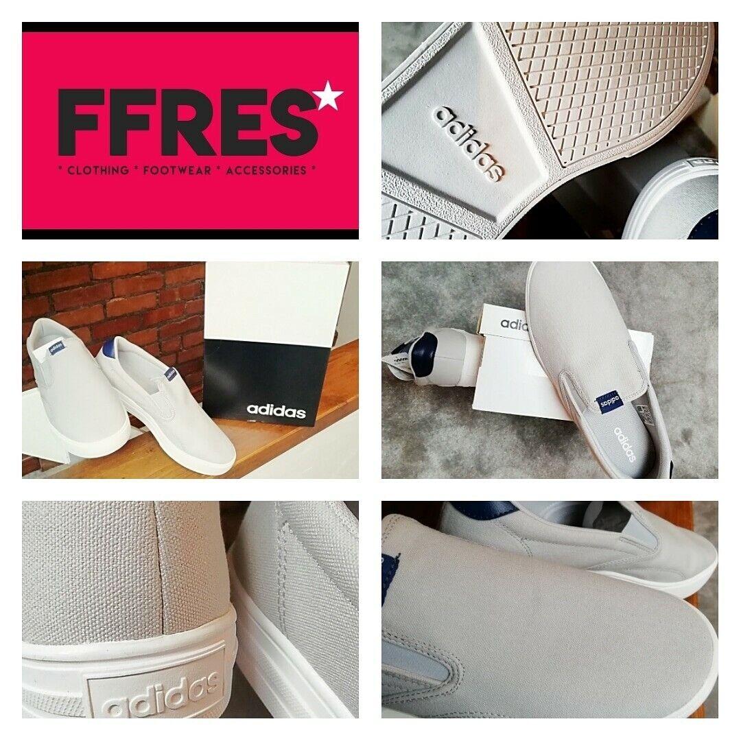 Adidas Entrenadores Talla 9.5 Reino Unido, gris y blancoo, casual Zapatillas, a estrenar.