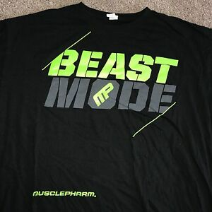bd064d8a 2XL MUSCLE PHARM MP Confidence SHIRT LIFTING BEAST MODE We Live This ...