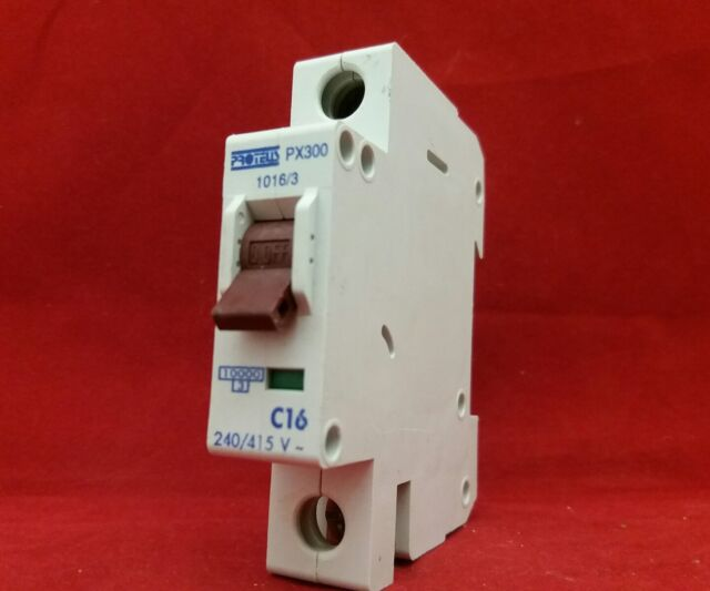 Proteus Sinlgle pole MCB Type B 6 Amp BS EN 60898