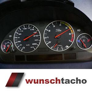 Tachoscheibe-fuer-BMW-E38-E39-E53-X5-034-Alp-Black-034-Benziner