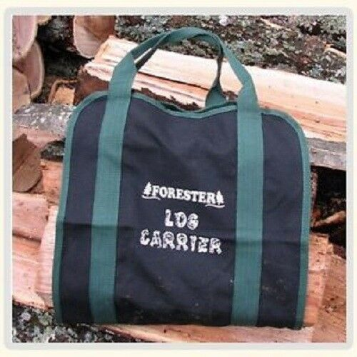 """Firewood Log carrier Canvas Double Stitched Heavy duty Firewood Bag Tote 15/""""X32/"""""""