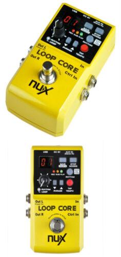 NUX Loop Core Loop Pedal Gitarren//Basseffekt Looper Recorder