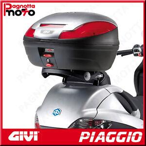 ATTACCO POSTERIORE  RIBALTABILE  PER BAULETTO MONOLOCK PIAGGIO MP3 300 2006>2011