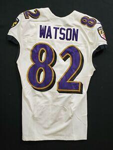 Details about #82 Benjamin Watson of Ravens NFL Practice Worn Jersey - BR 1842