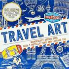 Travel Art: Wanderlust Design Book with 2 Metallic Pens and Luggage Tag by Parragon Books (Paperback / softback, 2015)
