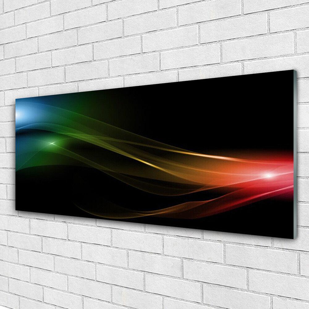 Acrylglasbilder Wandbilder Druck 125x50 Abstraktes Kunst