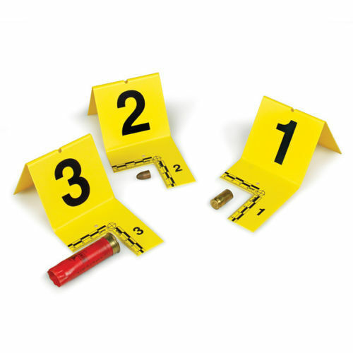 Armor Forensics IDTC-0120Y EVI-PAQ Yellow Cutout Type ID Tent w//Numbers 1-20