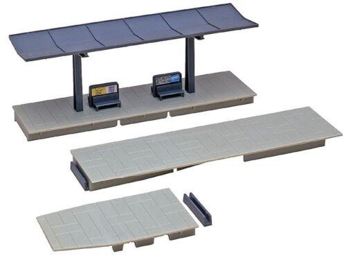 Bahnsteig 48 mm mit Dach Bausatz Neu Faller 120192 H0