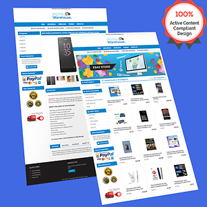 Mobile Responsive Ebay Store Design Auction Listing Template HTTPS - Ebay listing templates