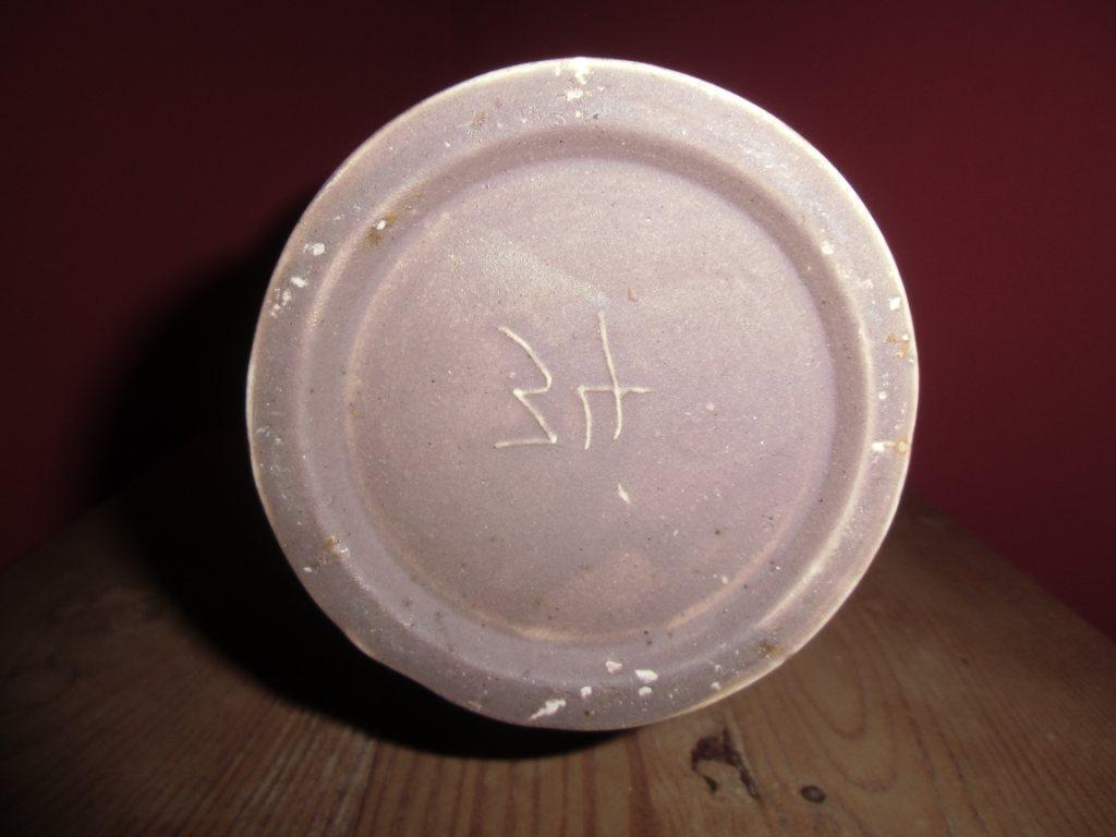 Seltene alte aufwendig aufwendig aufwendig handgefertigte Vase Desing Vase vintage Rarrität 0190ea