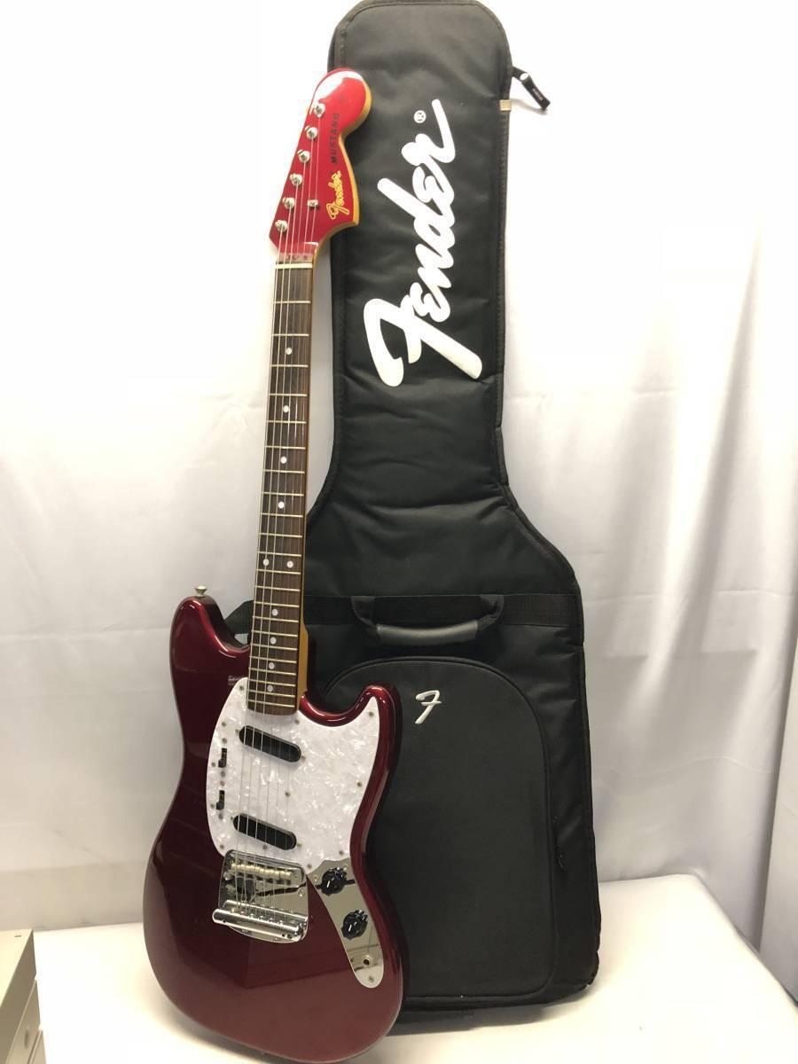 With case Fender Fender Fender Japan MG69MH OCR beutiful JAPAN rare useful EMS F/S 24b41b