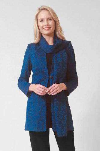 Glitz stampato cappotto e sciarpa Set