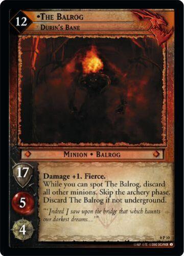 Durin/'s Bane 0P10 LoTR TCG Promo The Balrog